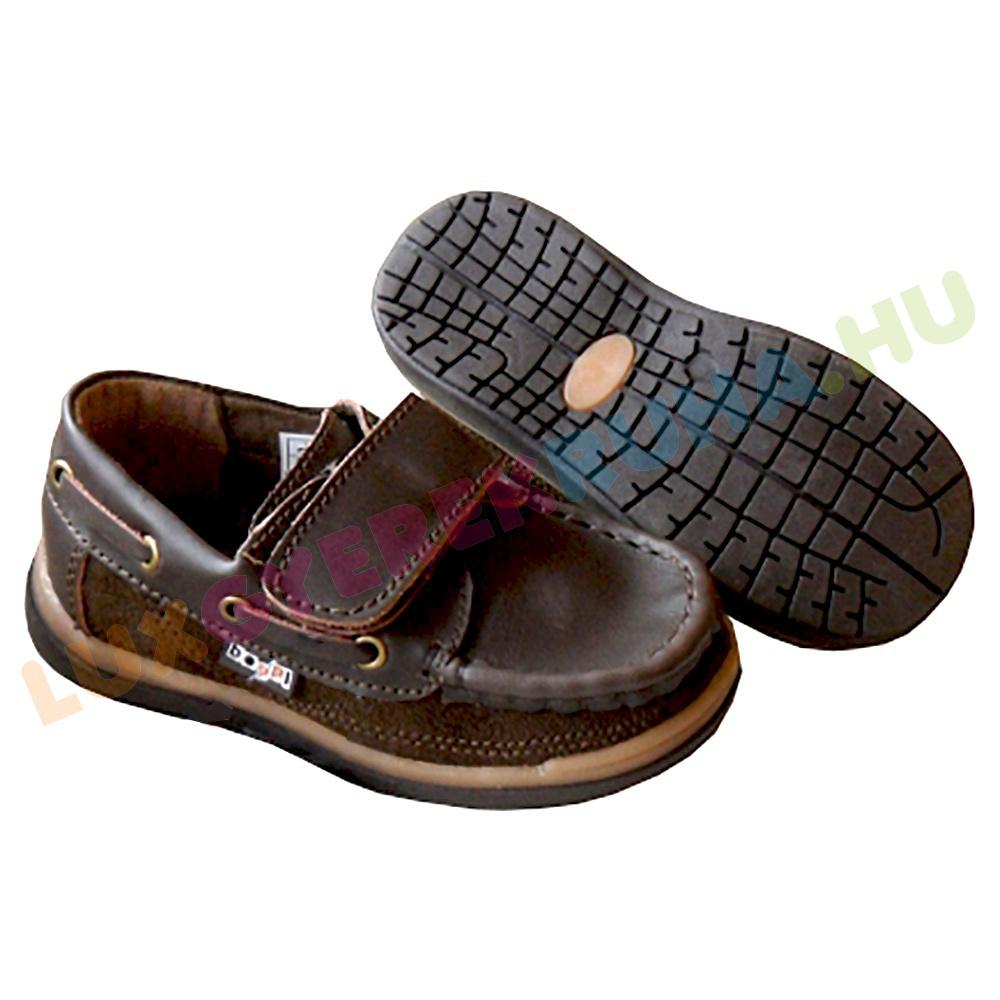 Beppi elegáns mokaszin formájú bőrcipő fiúknak. d93c31d098