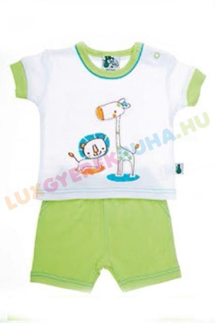 b799184ad1 F.S. Baby ujjatlan pamut póló és sort fiúknak - Safari