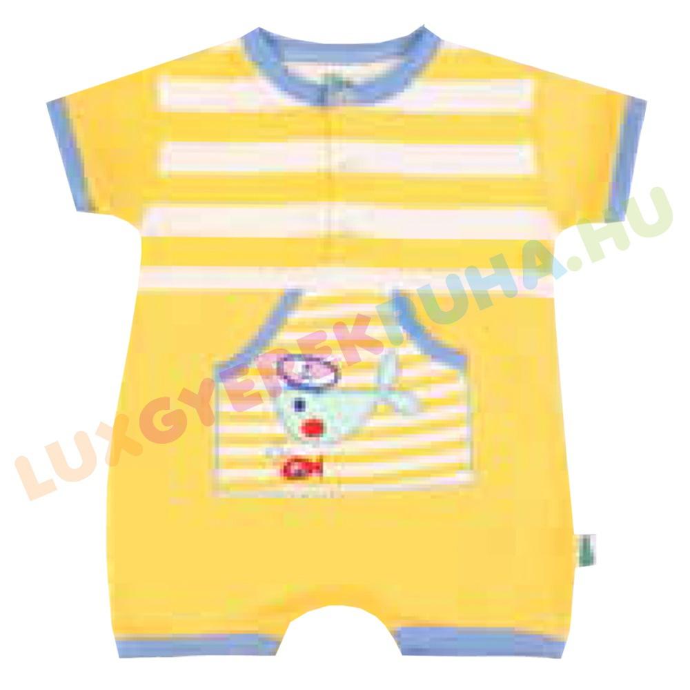 ba4369364d F.S. Baby rövid ujjú napozó ruha kenguru zsebbel - In the Sea