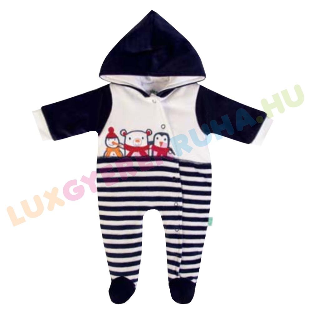 b4d8dbd816 F.S. Baby bélelt plüss baba overál, fiú kezeslábas - North Pole