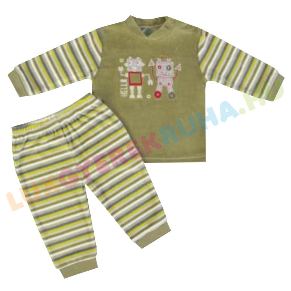 F.S. Baby kétrészes plüss pizsama 9641a4acff