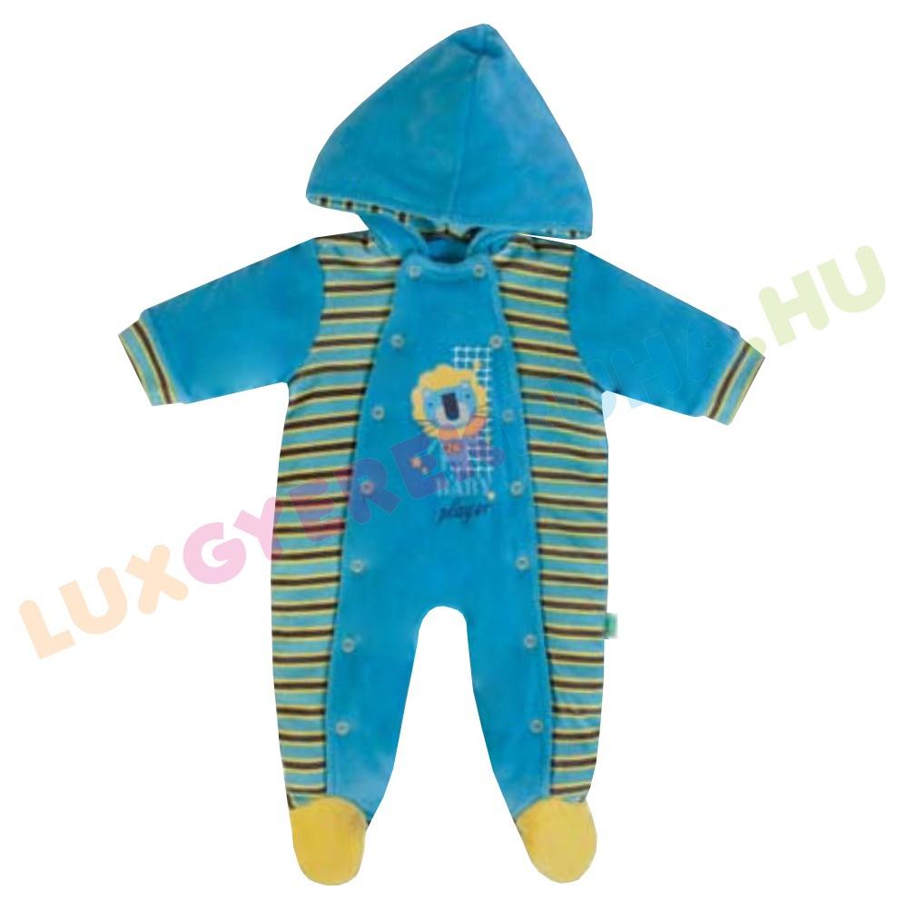 376031b3ca F.S. Baby bélelt plüss baba overál, fiú kezeslábas - Baby Player
