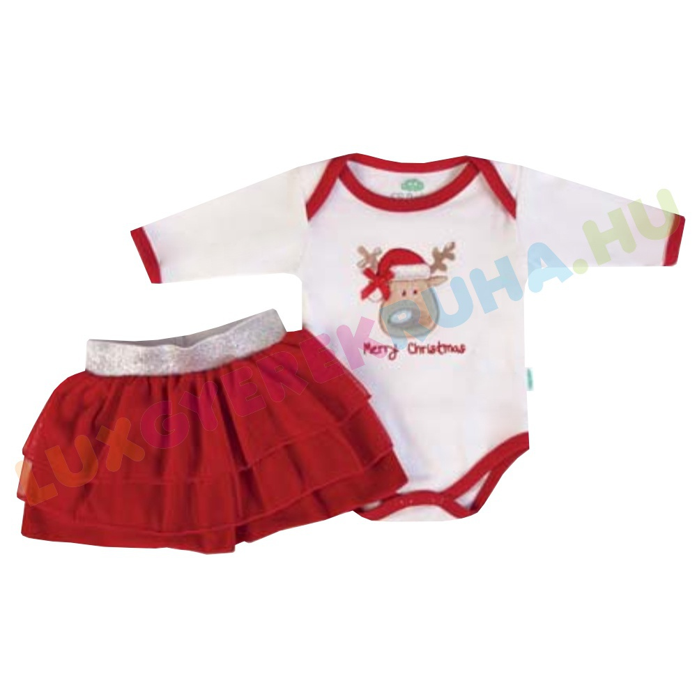 6c64807623 F.S. Baby hosszú ujjú pamut body, kombidressz és szoknya lányoknak - Merry