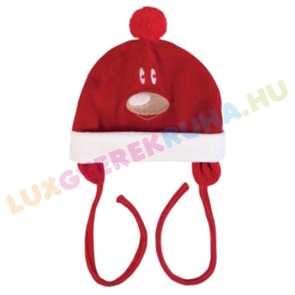 F.S. Baby karácsonyi plüss sapka megkötővel 1c3d1147ef
