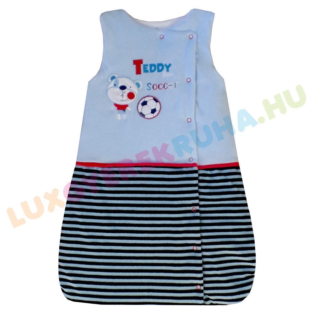 41853d7fc0 F.S. Baby ujjatlan bélelt plüss hálózsák babáknak - Soccer (65 cm)