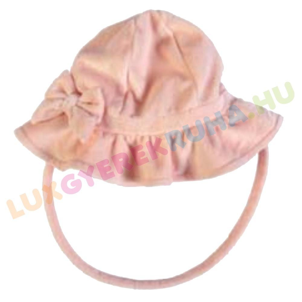 80d9b5101a F.S. Baby alkalmi plüss gyerek sapka, baba kalap megkötővel - Butterfly
