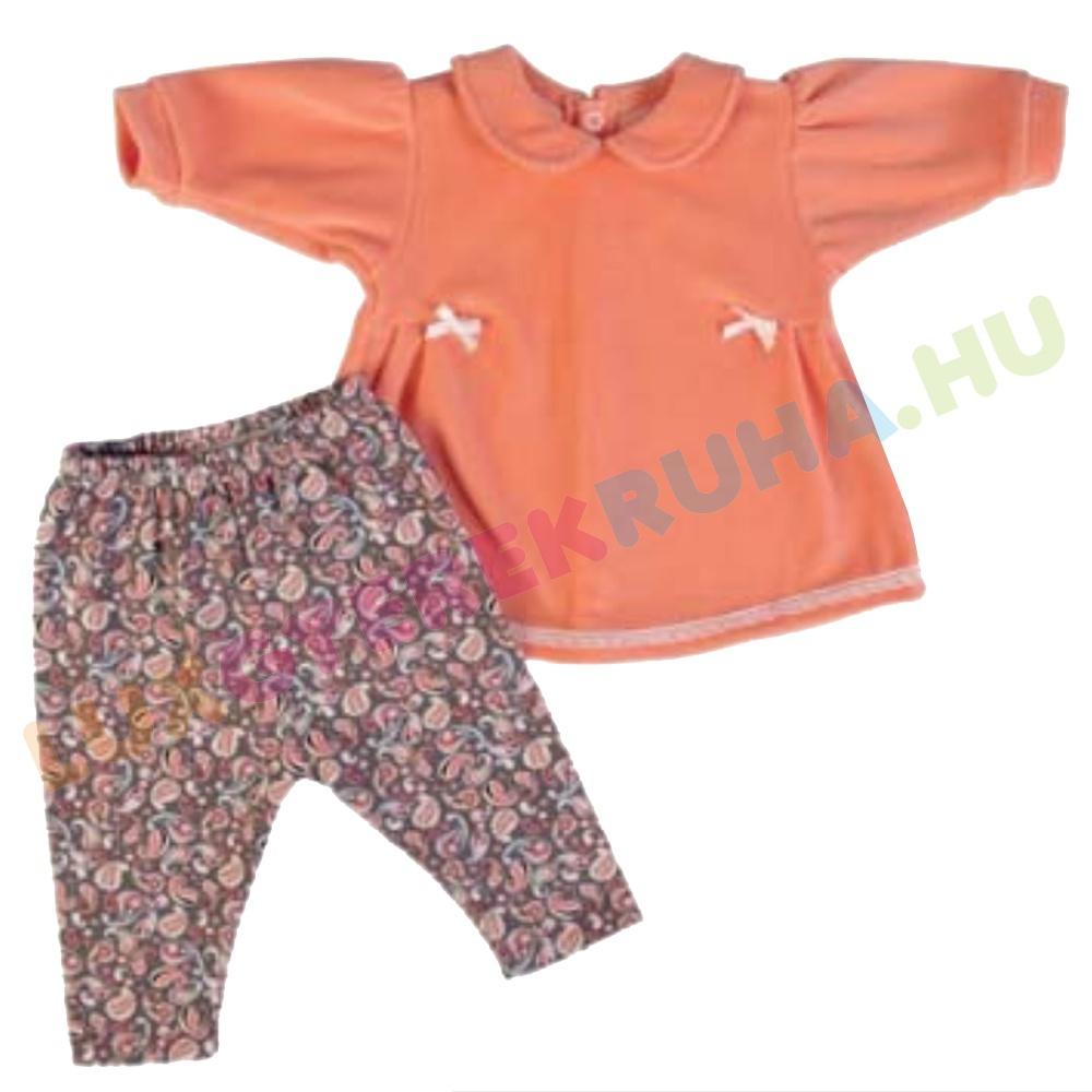19910d8b19 ELŐRENDELÉS! - F.S. Baby hosszú ujjú plüss tinika póló, pamut leggingssel  lányoknak - Sleepy
