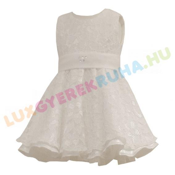 22a5bdd83c Lux csipke keresztelőruha, alkalmi ruha lányoknak - Diána