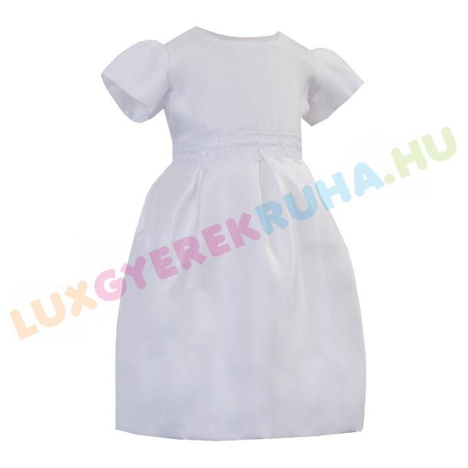 9a9addbcaa Gyönyörű és elegáns keresztelőruha, alkalmi ruha csipke díszítéssel.